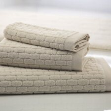 Brick Cotton Bath Towel in Natural