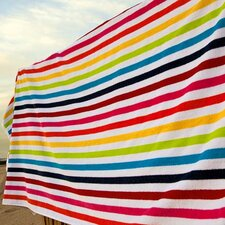 Shine Cotton Beach Towel in Multi
