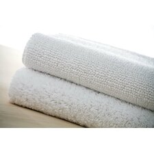 Pima Duo White Bath Rug