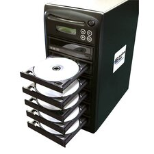 1 Reader to 5 Writer DVD / CD Duplicator