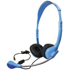 Personal Headset with Goose Neck Microphone and TRRS Plug