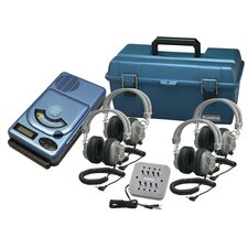 4 Person CD / MP3 Listening Center with Deluxe Headphone