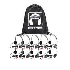 Sack-O-Phones 10 Personal Headset with Microphone