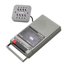 Classroom Cassette Player with 8 Station