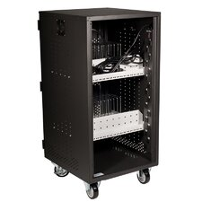 30 Compartment Tablet/Chromebook Security and Charging Cart