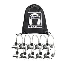 Sack-O-Phones 10 Personal Headset