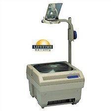 Open Head Single Lens Overhead Projector (2200 lumens) with Optional Lamp Changer