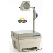 Closed Head Single Lens Overhead Projector (2200 lumens) with Optional Lamp Changer