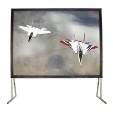 "Matte White 100"" Diagonal Fixed Frame Projection Screen"