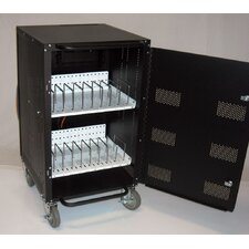 16-Compartment Laptop and Netbook Charging and Storage Cart