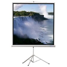 "70"" x 70"" Projector Screen with Black Housing - 1:1 Format"