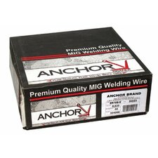 <strong>Anchor</strong> Spool Mild Steel Welding Wire (33 lb Spool) - er70s-6 .030x33 (33# spool-i)