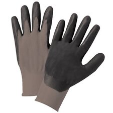 Nitrile Coated Gloves - 6020xxl grey nylon knit dk grey foam palm