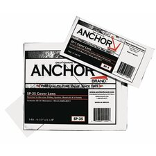 <strong>Anchor</strong> Cover Lens - 4 1/2x 5 1/4 50%cr-39 cover lens