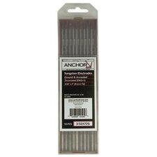 5 or 10 Pack Zirconiated Ground Tungsten Welding Rods - 3/32x3 zirc ground tungsten