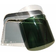 Visors - 8 x 11 clear visor for fibre metal