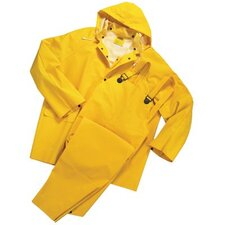 Rainsuits - 35 mil 3 piece rain suit pvc/polyester