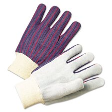 2000 Series Leather Palm Knit-Wrist Cotton Gloves