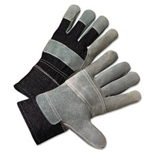 2000 Series Leather Palm Denim-Back Gloves