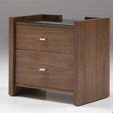 Diva 2 Drawer Nightstand