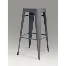 Metallica Perforated Metal Bar Stool