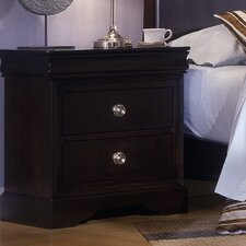Baton Rouge 3 Drawer Nightstand
