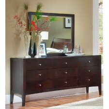 Harbor 9 Drawer High Dresser