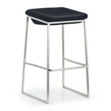 "Lids 24.4"" Bar Stool with Cushion (Set of 2)"