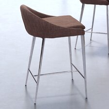 "<strong>dCOR design</strong> Reykjavik 24.4"" Adjustable Bar Stool (Set of 2)"