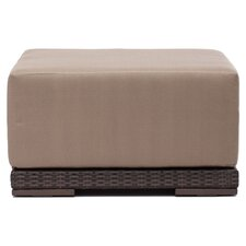 Park Island Ottoman with Cushion