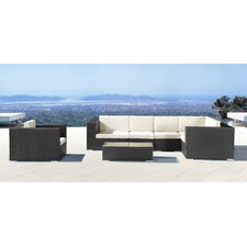 <strong>dCOR design</strong> Cartagena Outdoor Coffee Table in Chocolate