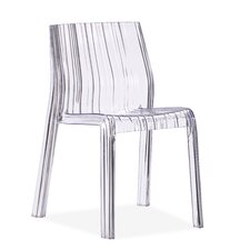 Ruffle Transparent Chair
