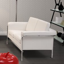 Singular Leatherette Loveseat