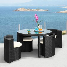 Tarfia 5 Piece Dining Set