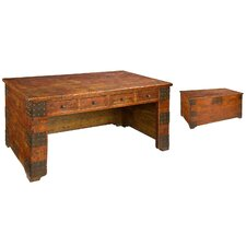 Made of AntiqueTrunk Desk