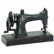 Décor Industrial Age Sewing Machine Figurine