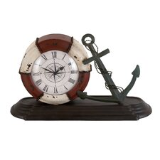 Durable Metal Table Clock