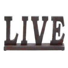 "Table Top ""Live"" Statue"