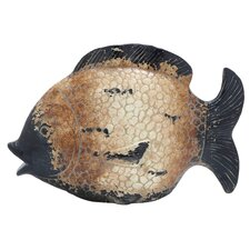 <strong>Woodland Imports</strong> Ceramic Fish Figurine
