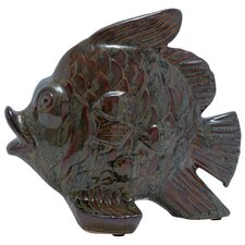 <strong>Woodland Imports</strong> Fish Figurine