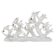 Polystone Coral Fish Showpiece Figurine