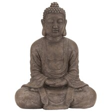 <strong>Woodland Imports</strong> Polystone Table Top Buddha Sculpture