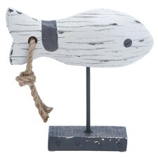 <strong>Woodland Imports</strong> Fish Decoration Figurine