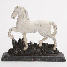 Polystone Trotting Horse Showpiece Statue
