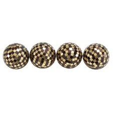 Mosaic Decorative Ball (Set of 4)