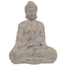 Oriental Sitting Empathetic Cement Buddha Statue