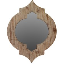 Alluring  Unique Wooden Mirror