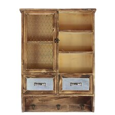 2 Drawer Sophisticated Wooden Cabinet