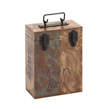 The Amazing Wood 2 Bottle Wine Box