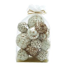 Mesmerizing Decorative Dried Sola Ball Bag